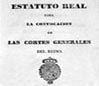 Estatuto Real 1834 (10 de abril de 1834) - Portal Fuenterrebollo